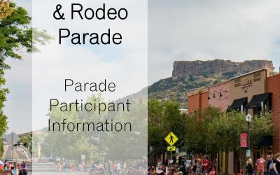 2018 Parade Info
