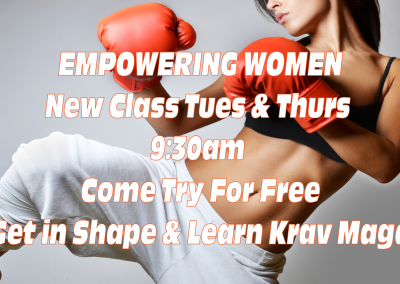 Empowering Women With Krav Maga