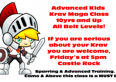 Advanced Kids Krav Maga Castle Rock