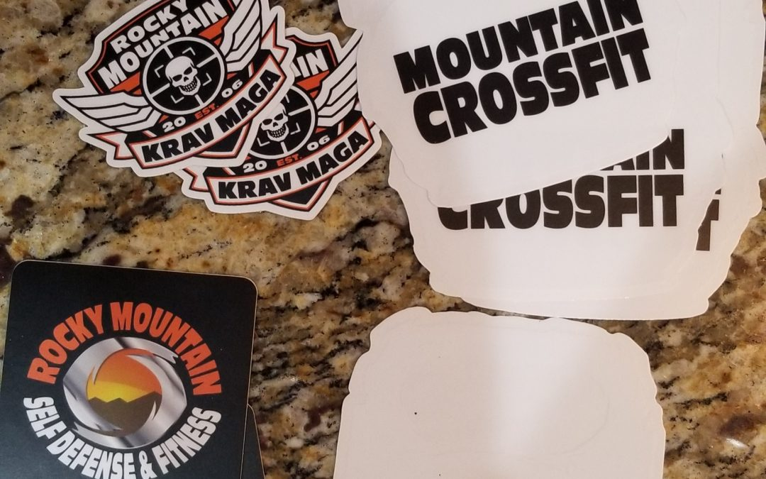 Stickermule Crossfit Stickers